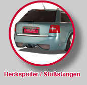 Heckspoiler/Sto&szlig;stangen