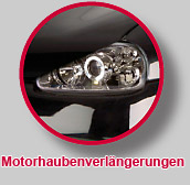 Motorhaubenverlaengerungen
