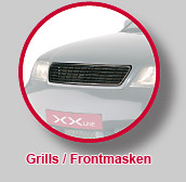 Grills/Frontmasken
