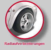 Radlaufverbreiterungen